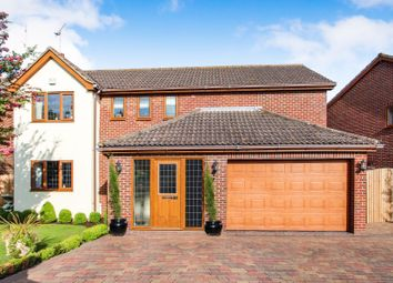 Thumbnail 4 bed detached house for sale in Wellsfield, Rayleigh
