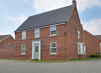 Thumbnail 4 bed detached house for sale in Barnard Park, Kingswood, Hull