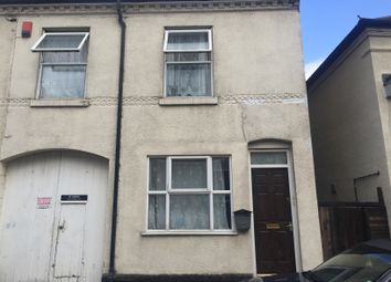 Thumbnail 3 bed terraced house to rent in Arundel Street, Walsall, West Midlands