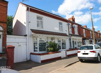 Thumbnail 3 bed end terrace house for sale in Cheshire Road, Smethwick, West Midlands