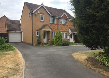Thumbnail 3 bed semi-detached house to rent in The Littlefare, Thorpe Astley