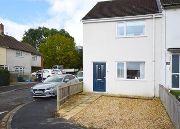 Thumbnail 2 bed end terrace house for sale in Mellent Avenue, Hartcliffe, Bristol