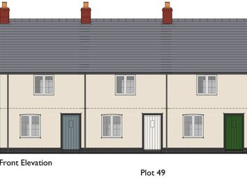 Thumbnail 2 bed terraced house for sale in Coward Road, Mere, Warminster