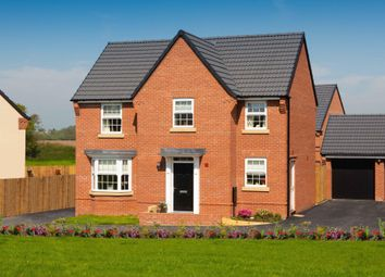 "Thumbnail 4 bed detached house for sale in ""Mitchell"" at Flaxland Way, Corby"