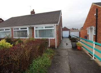 Thumbnail 2 bed semi-detached bungalow to rent in Carmel Gardens, Middlesbrough