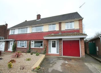 Thumbnail 5 bedroom semi-detached house for sale in Ashdown Way, Broke Hall, Ipswich, Suffolk