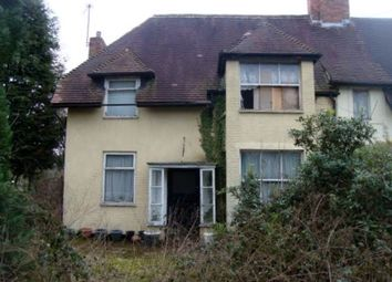 Thumbnail 3 bed semi-detached house for sale in Coleshill Road, Fazeley, Tamworth, Staffordshire