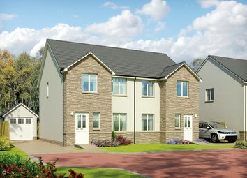Thumbnail 3 bedroom semi-detached house for sale in The Arrochar, Rigghouse Road, Whitburn, West Lothian