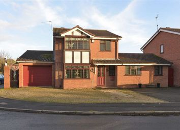 Thumbnail 4 bed detached house for sale in Ploverdale Crescent, Kingswinford, Kingswinford