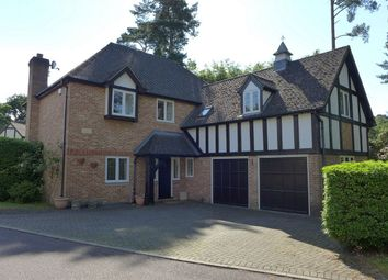 Thumbnail 5 bed detached house to rent in The Ridings, Frimley, Camberley