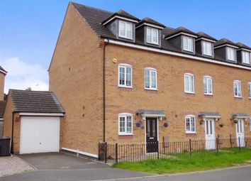 Thumbnail 4 bed end terrace house for sale in Comfrey Close, Cannock, Staffordshire