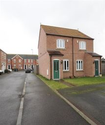 Thumbnail 2 bed semi-detached house to rent in Long Acre, Camblesforth, Selby