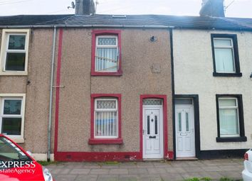 3 bed terraced house for sale in Mountain View, Harrington, Workington, Cumbria CA14