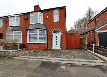 Thumbnail 3 bed semi-detached house for sale in Glenbeck Road, Whitefield, Manchester