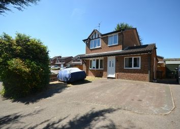 Thumbnail 3 bed detached house for sale in Merestone Road, Corby