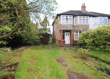 Thumbnail 3 bed semi-detached house for sale in Lidgett Place, Roundhay, Leeds