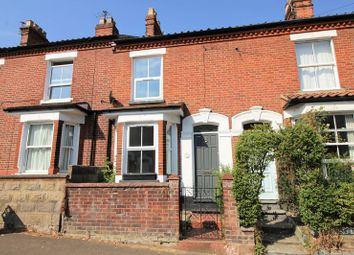 Thumbnail 3 bed terraced house to rent in Warwick Street, Norwich