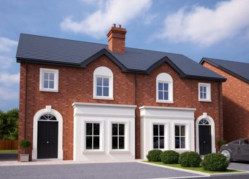 Thumbnail 3 bedroom semi-detached house for sale in Ballycullen Halt, Scrabo Road, Newtownards