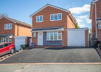 Thumbnail 3 bed detached house for sale in Woodthorpe Drive, Bewdley