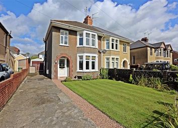 Thumbnail 3 bed semi-detached house for sale in Hollybush Terrace, Church Village, Pontypridd