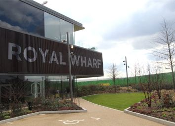 Thumbnail Studio for sale in The Royal Wharf, North Woolwich Road, London