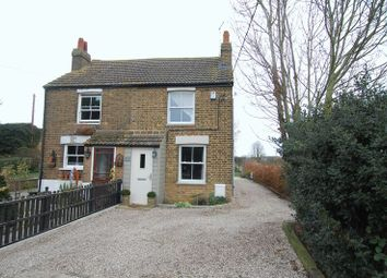 Thumbnail 2 bed cottage for sale in Brentwood Road, Bulphan, Upminster