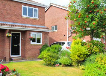 Thumbnail 2 bed semi-detached house for sale in Carron Crescent, York