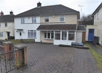 Thumbnail 3 bedroom semi-detached house for sale in Clee Road, Northfield, Birmingham