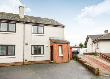 Thumbnail 2 bed semi-detached house for sale in Glenaylmer Road, Kirkconnel, Sanquhar, Dumfriesshire