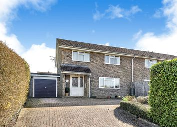 Thumbnail 4 bed semi-detached house for sale in Middle Lane, Cherhill, Calne