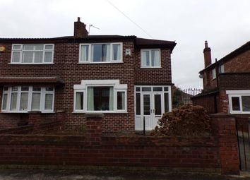 Thumbnail 3 bed semi-detached house for sale in Burnage Lane, Manchester, Greater Manchester