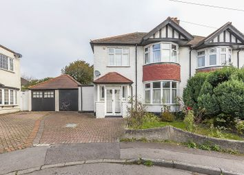 Thumbnail 3 bed semi-detached house for sale in Firs Walk, Woodford Green, Essex.