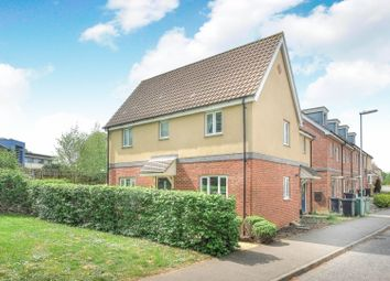 Thumbnail 3 bed semi-detached house for sale in Dr Torrens Way, Norwich