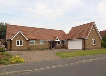 Thumbnail 4 bed detached bungalow for sale in Brecon Way, Sleaford