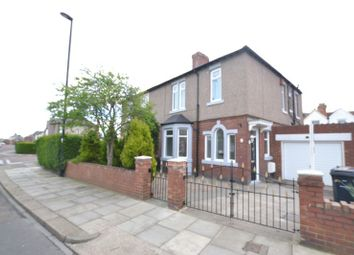 Thumbnail 3 bed semi-detached house for sale in Appletree Gardens, Walkerville, Newcastle Upon Tyne