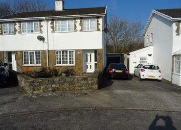 Thumbnail 3 bed semi-detached house for sale in Taliesin Close, Pencoed, Bridgend