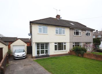 Thumbnail 3 bedroom semi-detached house for sale in Ennerdale Close, Cardiff