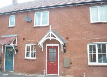Thumbnail 2 bed town house for sale in Bunneys Meadow, Hinckley
