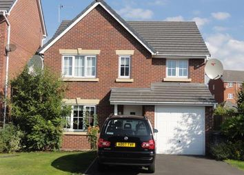 Thumbnail 4 bed detached house to rent in Manhattan Gardens, Chapelford, Warrington