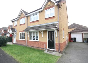 Thumbnail 3 bed semi-detached house for sale in Heron Way, Coalville