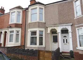 Thumbnail 3 bed terraced house for sale in Claremont Road, Rugby