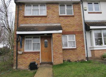 Thumbnail 1 bed end terrace house to rent in Brantwood Way, Orpington