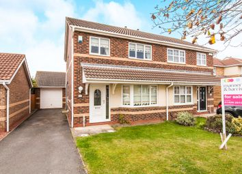 Thumbnail 3 bed semi-detached house for sale in Headingley Court, Seaton Carew, Hartlepool