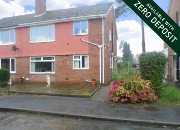 Thumbnail 2 bed flat to rent in Rees Close, Malpas, Newport
