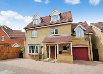 Thumbnail 4 bed detached house for sale in Grantham Avenue, Great Notley, Braintree