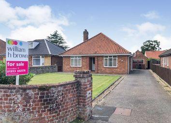 Thumbnail 3 bed detached bungalow for sale in Melton Road, Wymondham