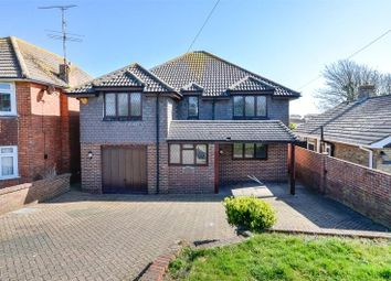 Thumbnail 4 bed detached house for sale in Old Salts Farm Road, Lancing, West Sussex