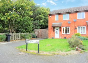 Thumbnail 2 bedroom semi-detached house for sale in Daffodil Close, Sedgley