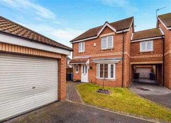 Thumbnail 3 bed link-detached house for sale in Eildon Hills Close, Castle Grange, Hull