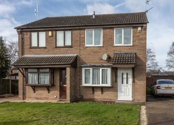 Thumbnail 2 bed semi-detached house for sale in Lydd Close, Lincoln